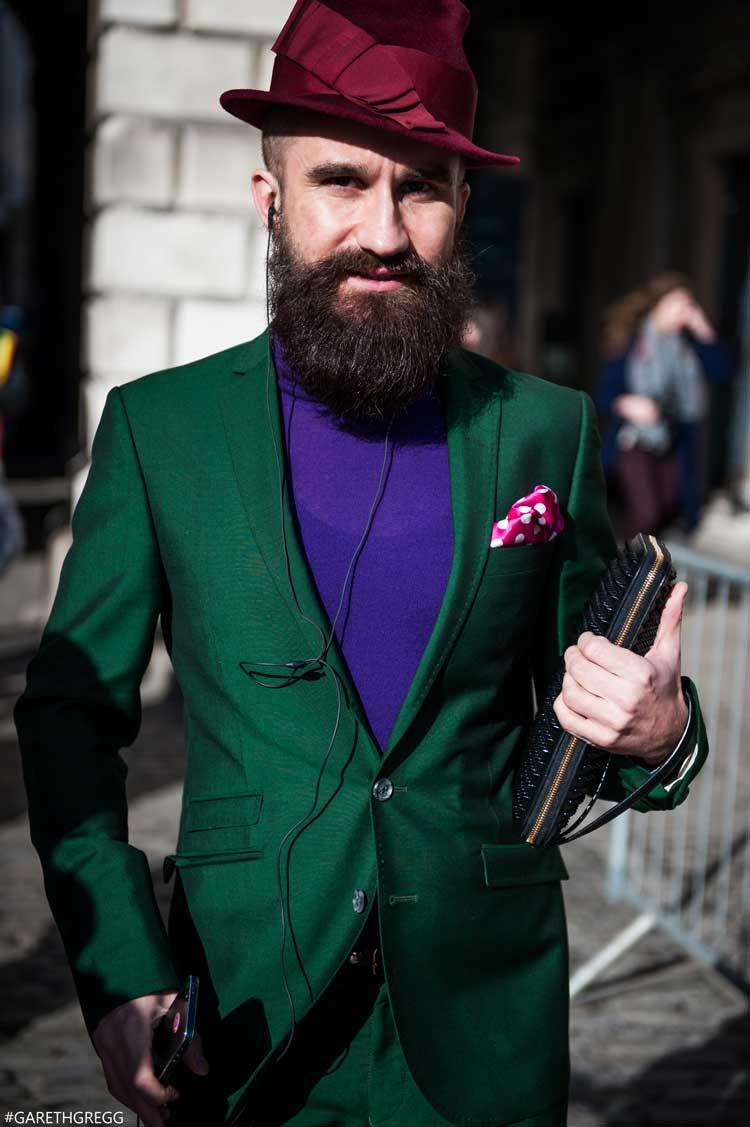 London Fashion Week 2014 - MenStyleFashion Street Photography (22)