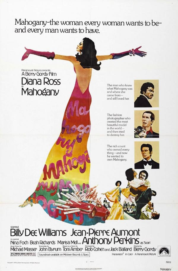 Mahogany. Directed by Berry Gordy, 1975 featuring Diana Ross