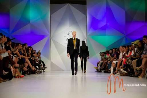 Shaun Ross - Velsvoir Dubai Fashion Week 2014 Braces