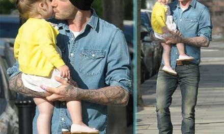 Double Denim – Not Even For Beckham