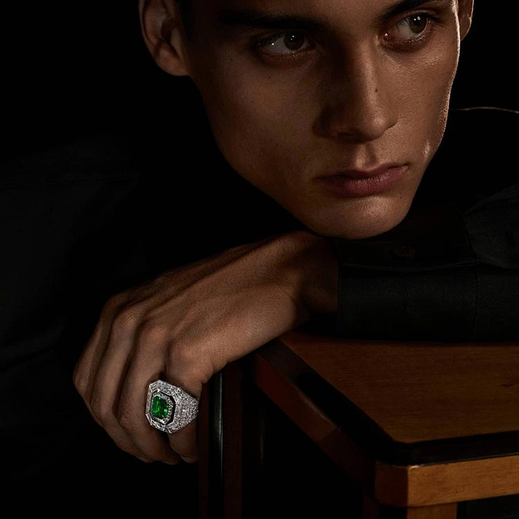 Diamonds - Are They A Man's Best Friend 2021 ring and brooch (2)
