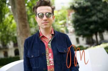 Nick Grimshaw - London Collections Men 2014 Gracie Opulanza (2)