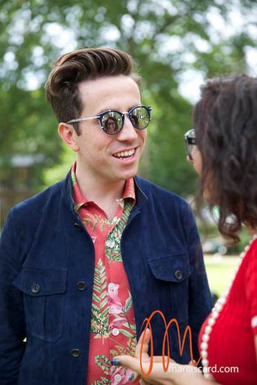 Nick Grimshaw - London Collections Men 2014 Gracie Opulanza (9)