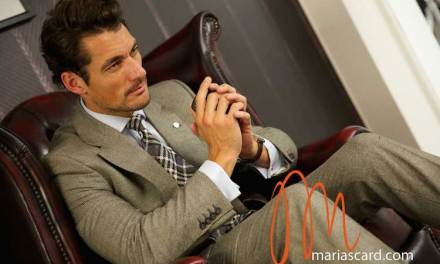 David Gandy – British Fashion Council's Finest