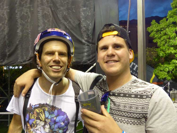 Daniel Dhers BMX winner Andorra 2014 FISE World