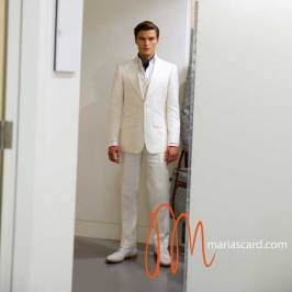 White Suits For Men MarksandSpencer2015 (6)