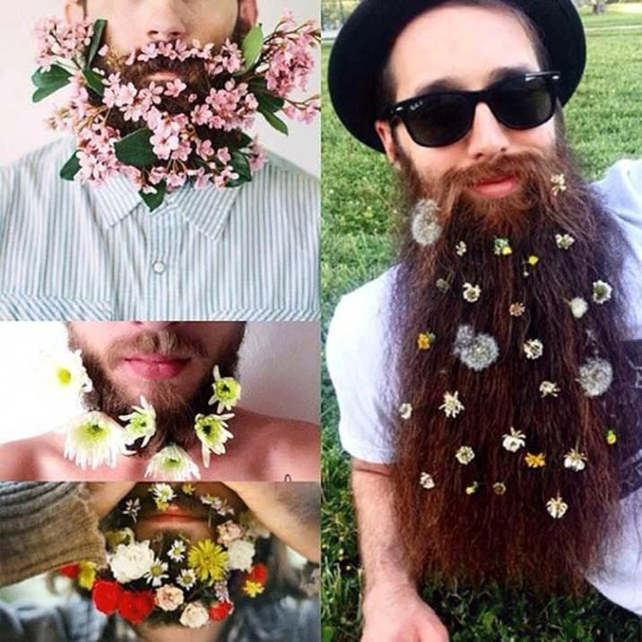 Beard-Fashion-men-with-Flowers-on-their-beard-6