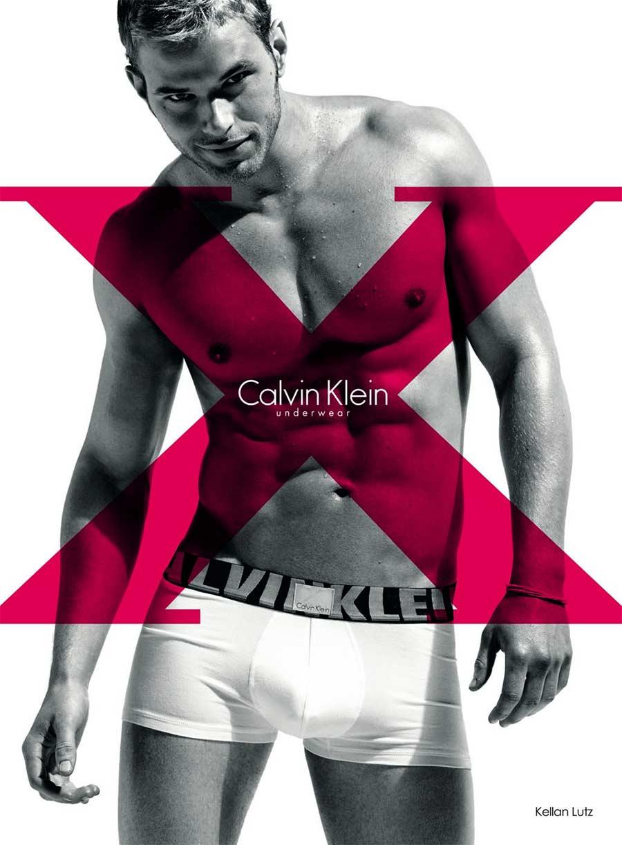 Kellan Lutz model for x rated Calvin Klein Underwear