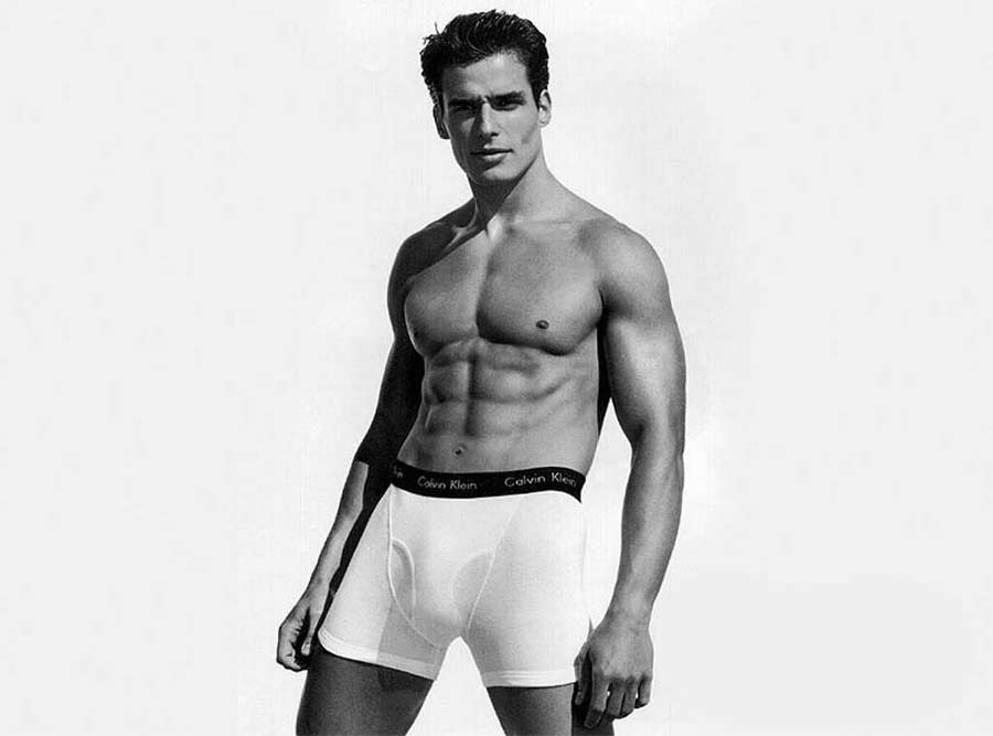 Antonio Sabato Jr for Calvin Klein model