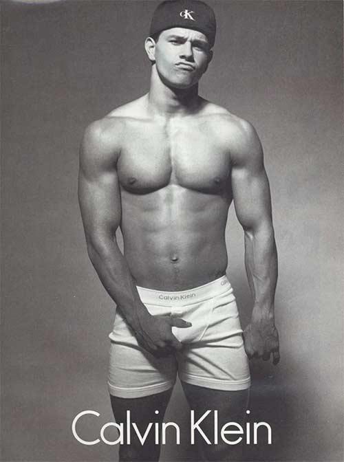 Mark Wahlberg model for Calvin Klein underwear