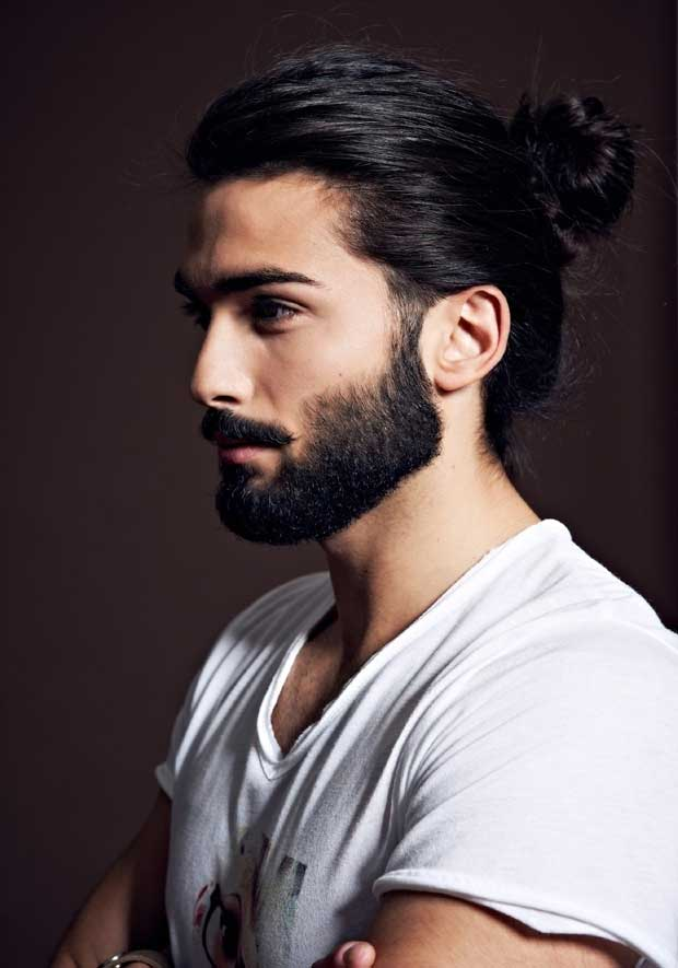 The Fall And Rise Of Long Hair The Man Bun Men Style Fashion