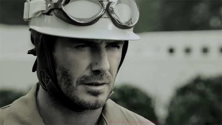 David Beckham – The Face of Jaguar in China