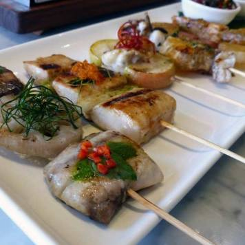 Fish and Shellfish Sate