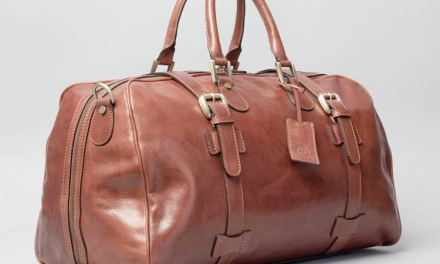The Maxwell Scott FleroM Bag – Luxury Leather Overnight Bag
