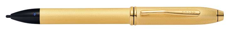 Townsend Fine Tip eStylus in Brushed 23KT Gold Plate £225
