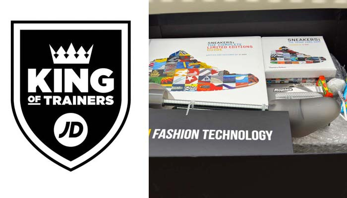 The JD Sports King Of Trainers Sneaker Box