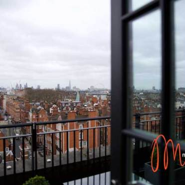 Balcony with a view - Mayfair Penthouse