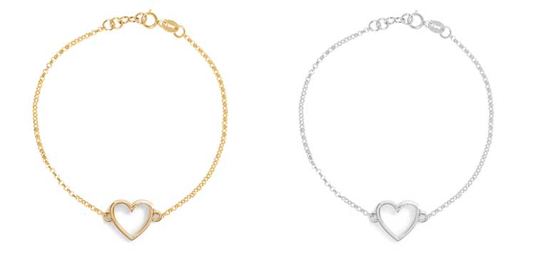 Mejuri-heart-braclets-in-gold-and-silver