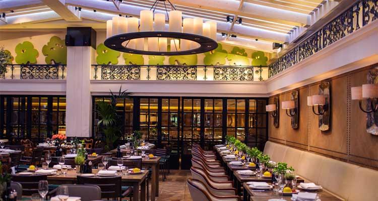 Novikov Restaurant London – Asian Food In Opulent Setting
