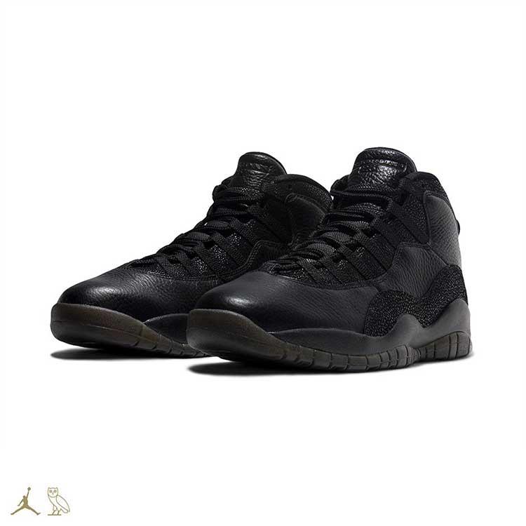 Air Jordan X OVO Black