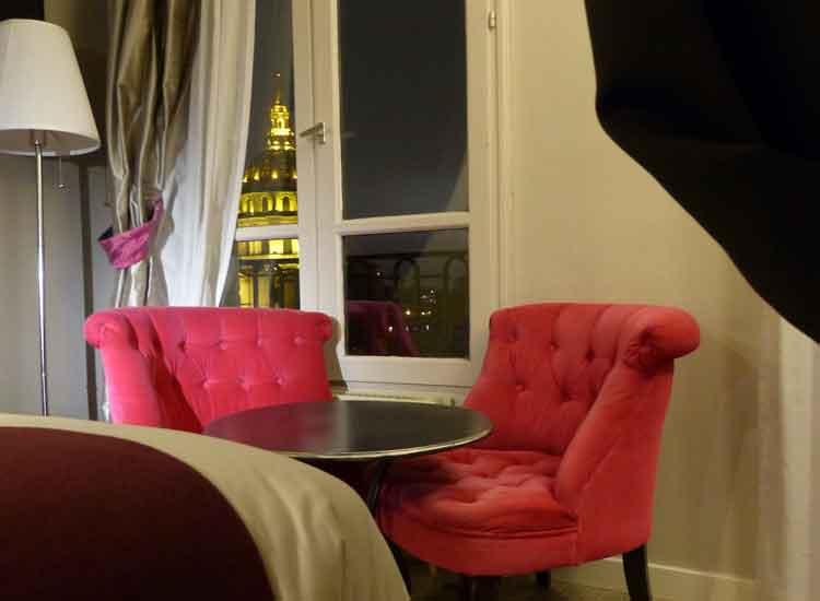 Hotel De France Invalides - A View Of The Golden Dome Paris Gracie Opulanza (1)