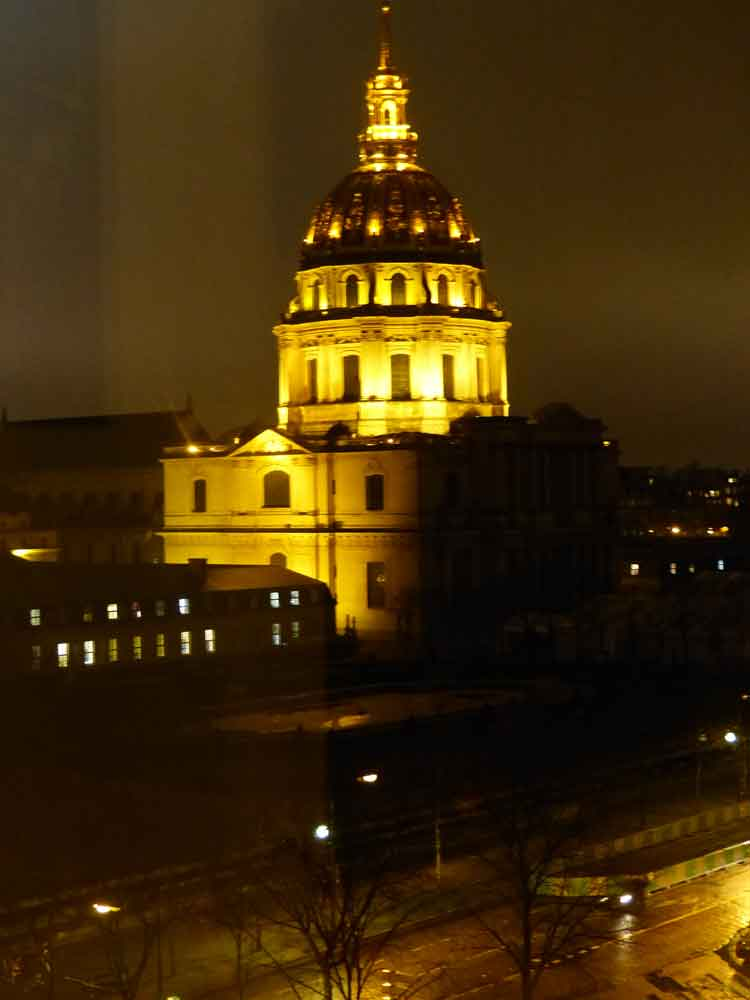 Hotel De France Invalides - A View Of The Golden Dome Paris Gracie Opulanza (5)
