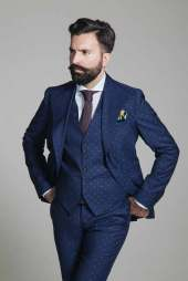 Polka Dot Suit - MenStyleFashion (1)