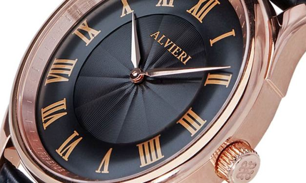 Alvieri – Elegant Watch with a Lively Dial