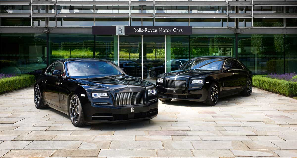 Rolls-Royce Celebrates 2016 Goodwood Festival Of Speed With Dark Edgy Presence