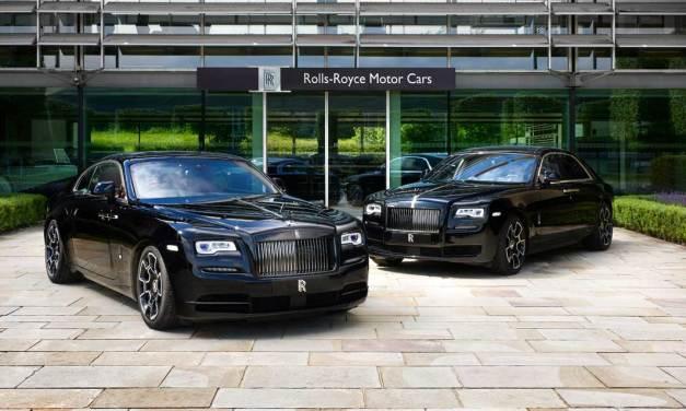 Rolls-Royce Celebrates 2016 Goodwood Festival Of Speed With Dark Edgy Presence