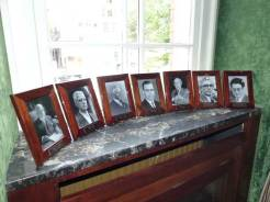 Photos of Mayors that served when it was a city hall