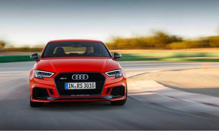 New Audi RS 3 Sedan Launched at Paris Motor Show