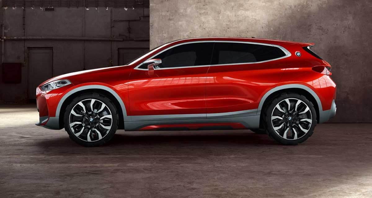 BMW Concept X2 Presented At Paris Motor Show