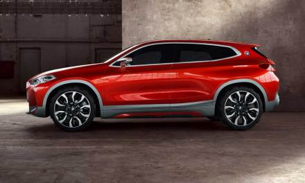 BMW Concept X2 Presented At Paris Motor Show