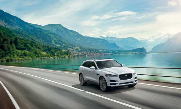 Jaguar F-Pace – Luxury SUV