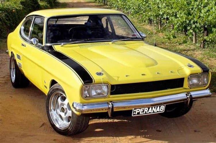 Ford Capri Perana South Africa