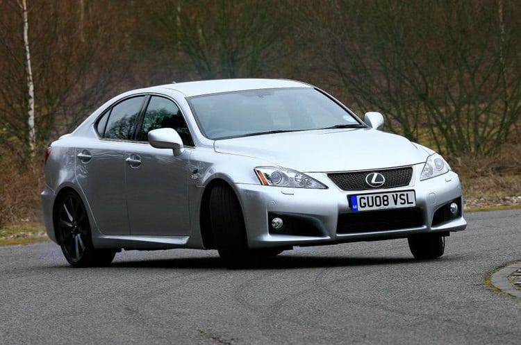 Lexus IS-F Japanese