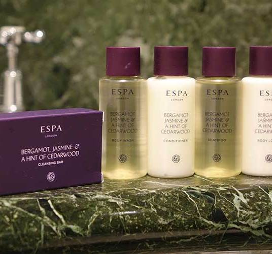 Espa bathroom products