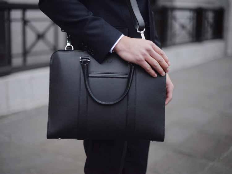 Opperman London - Luxury Palissy Briefcase