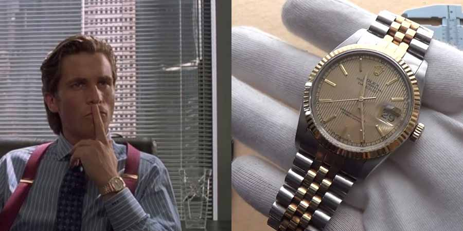 The American Psycho Rolex Two Tone