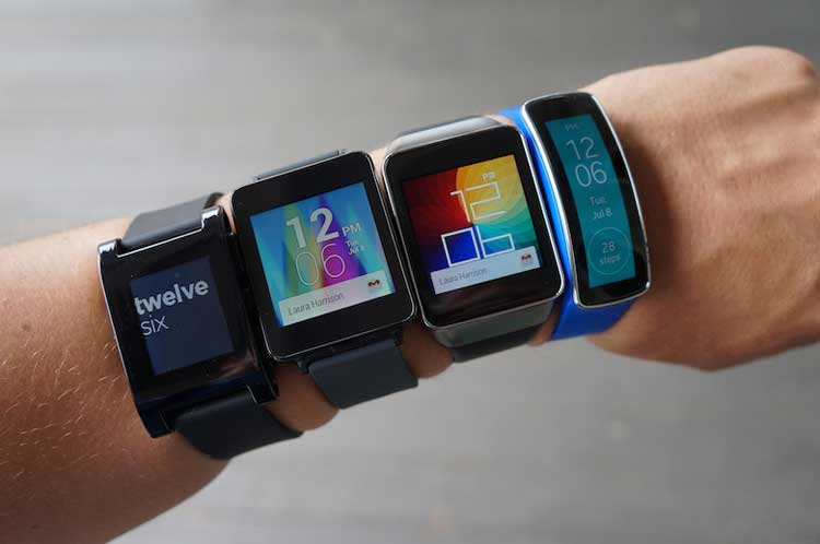 10 Types Of Watches Popular Among Men - smartwatches