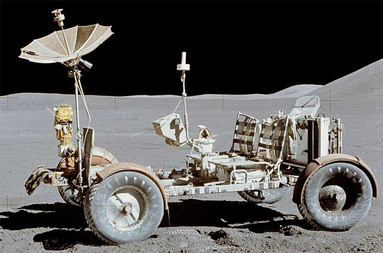 The Apollo 17 Lunar rover, what will it look like 46 years later.