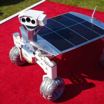 Audi Moon Rover - Heads To The Moon Literally!