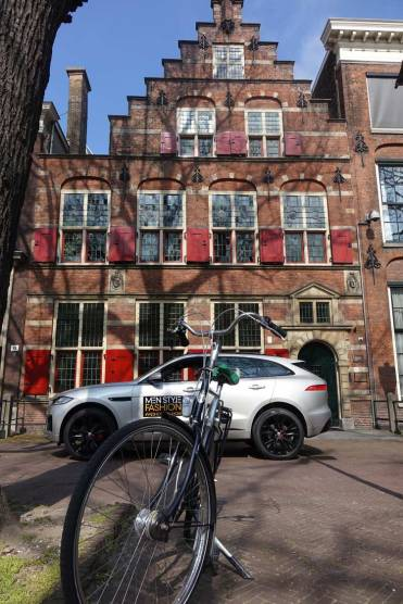The F-Pace in The Hague