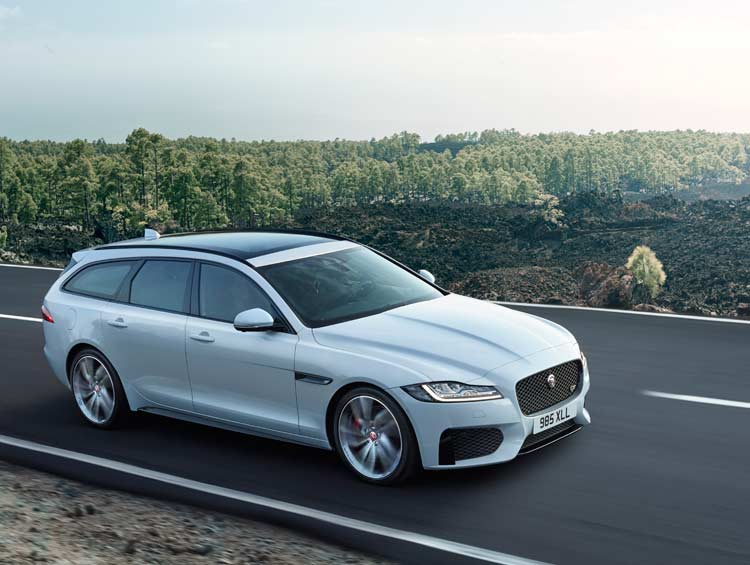 Jaguar XF Sportbrake reveal