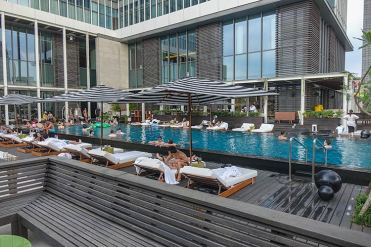 W Taipei hotel review WET pool area (1)