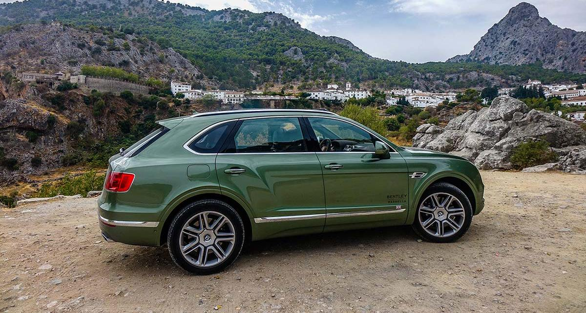Bentley Bentayga Diesel – Tour Through Andalusia