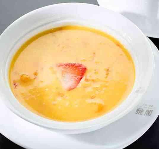 Ya Ge Mango Pomelo Coconut Sago Cream