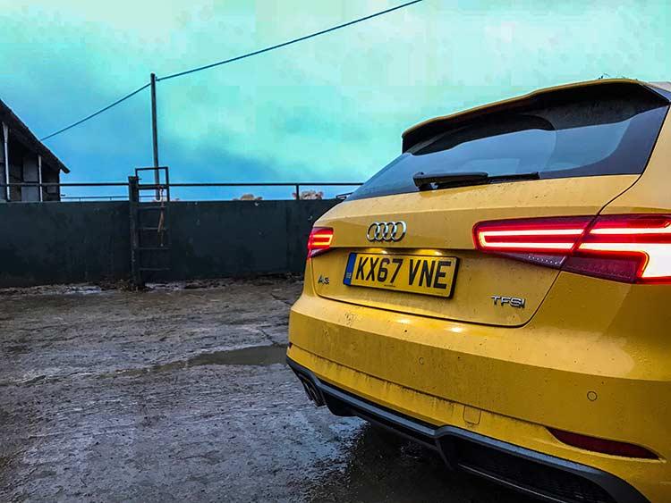 Audi A3 – Winter Fun In The UK