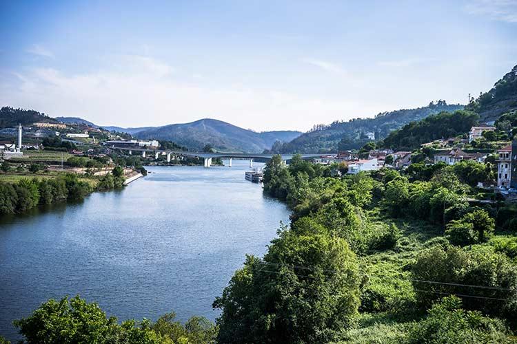 the Dauro river porto portugal